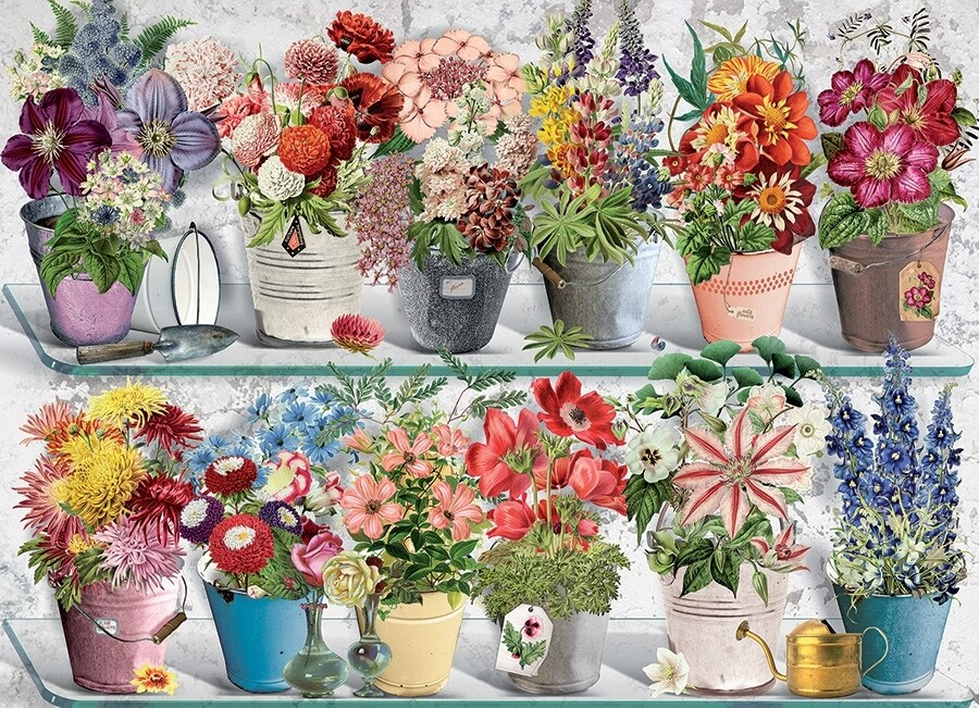 Beaucoup Bouquet - 1000 Piece Cobble Hill Puzzle