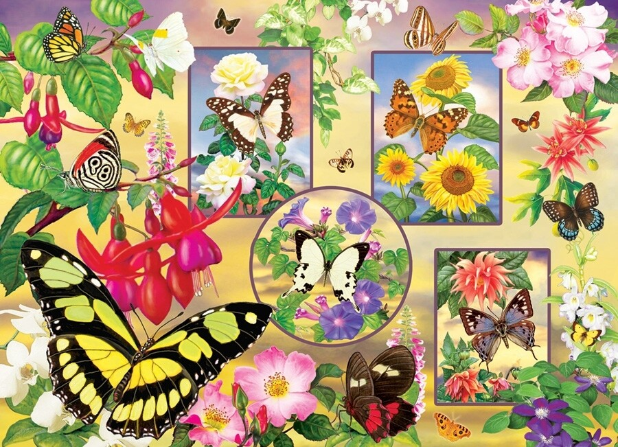 Butterfly Magic - 500 Piece Cobble Hill Puzzle