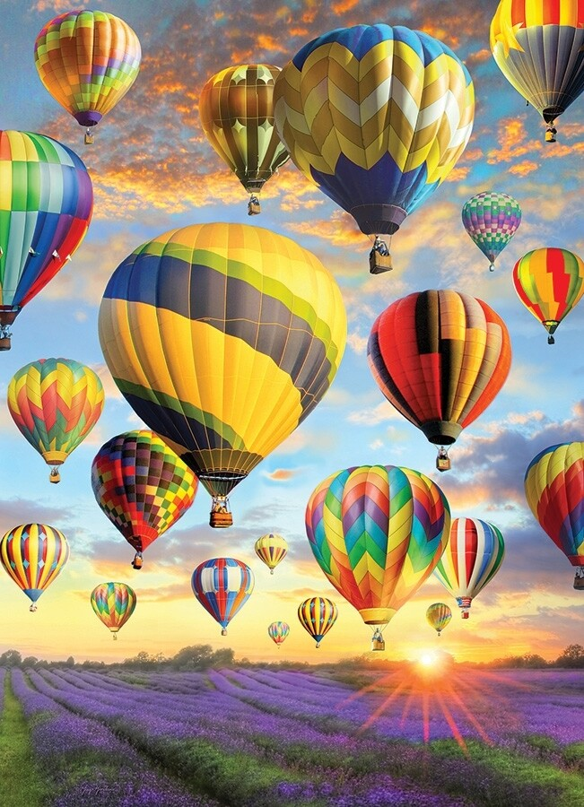 Hot Air Balloons - 1000 Piece Cobble Hill Puzzle