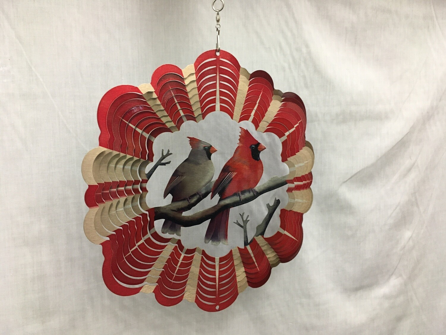 Cardinals Large - Wind Spinner