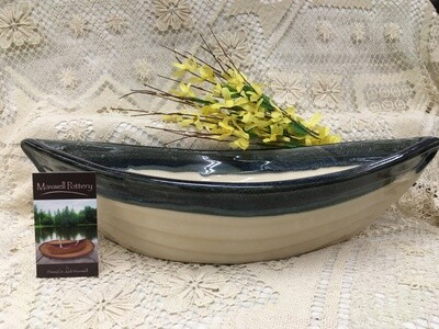 Dory Bowl Granite - Maxwell Pottery - Canadian Handmade