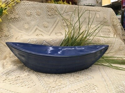 Dory Bowl Azure Blue - Maxwell Pottery - Canadian Handmade