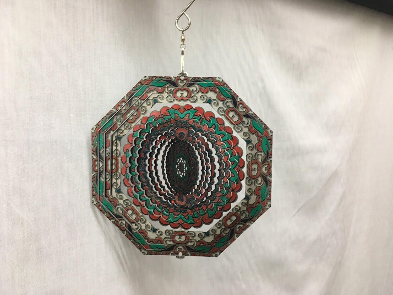 Octagon Mandala Small - Wind Spinner