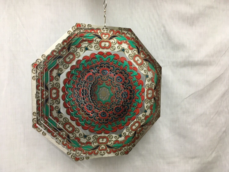 Octagon Mandala Large - Wind Spinner