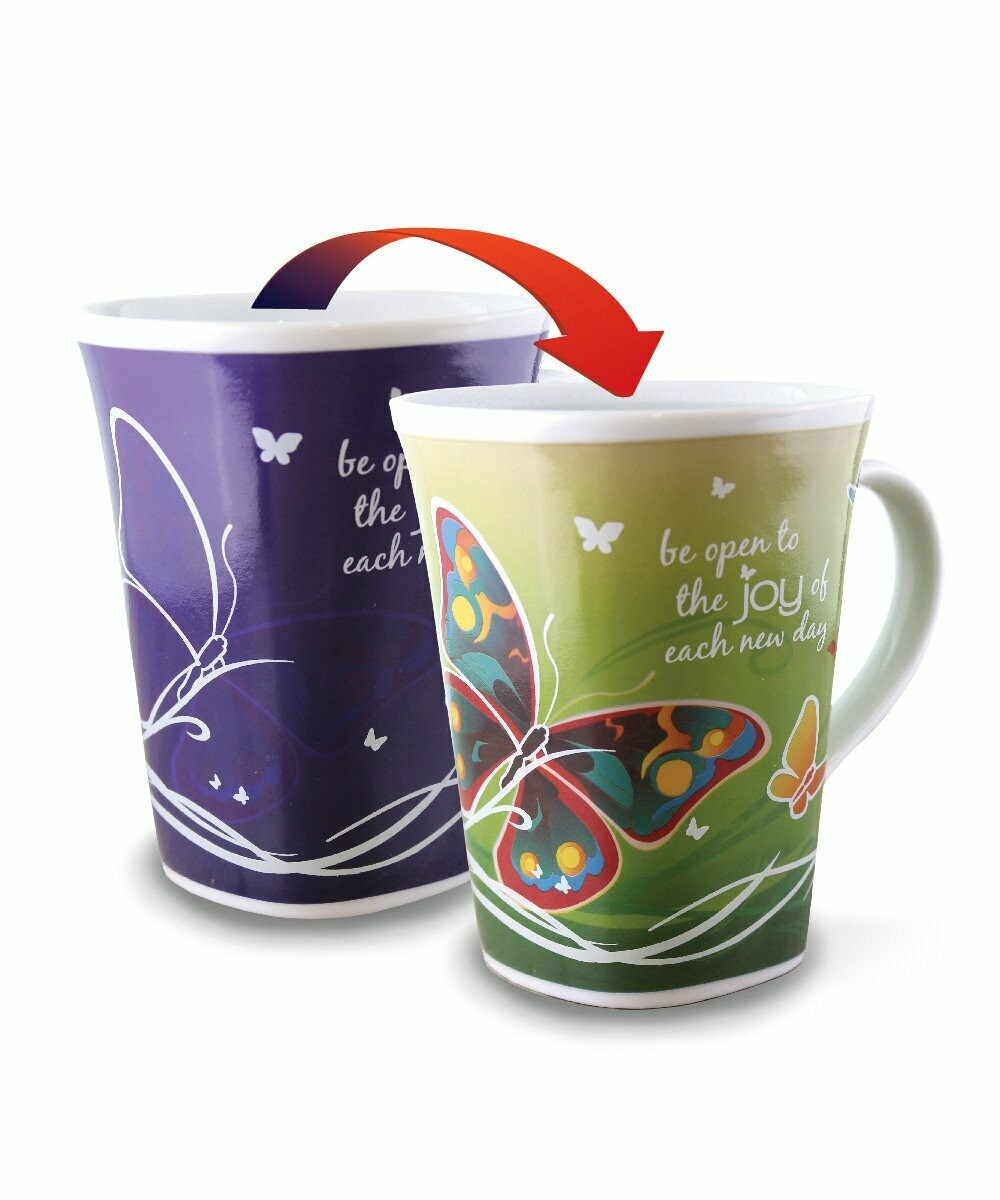 Joy Colour Changing Mug - Be open to the joy of each new day