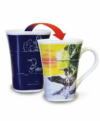 Loon Colour Changing Mug - Canadian Images Wildlife Edition