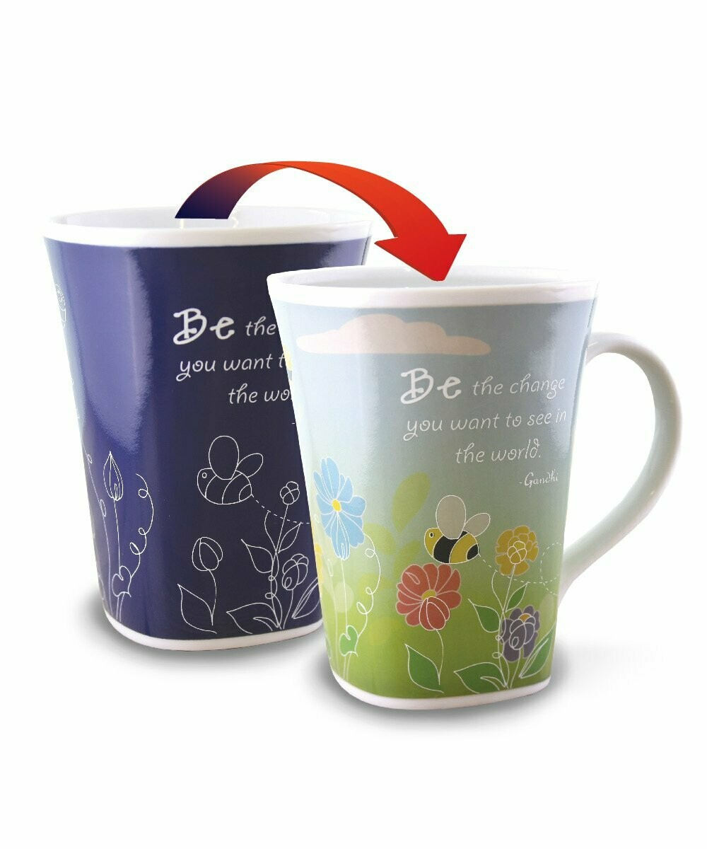 Hope Colour Changing Mug  - Be the change you want to see in the world