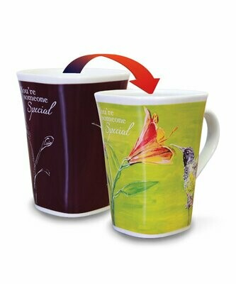Hummingbird Colour Changing Mug - You're Someone Special