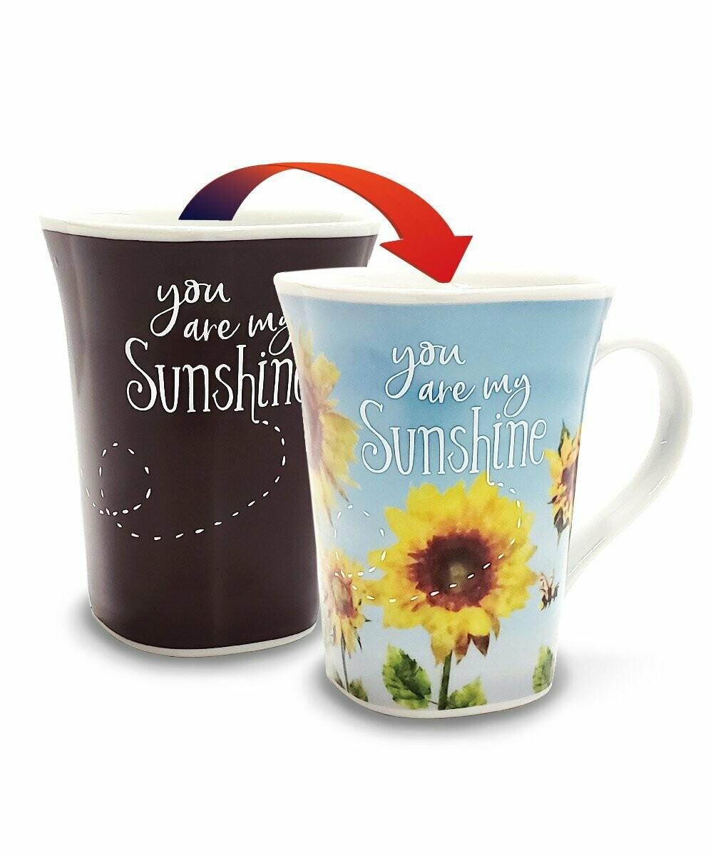 Sunshine Colour Changing Mug - You are my Sunshine