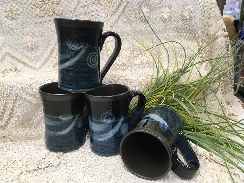 Large Mug, Blue Stone - Pavlo Pottery - Canadian Handmade