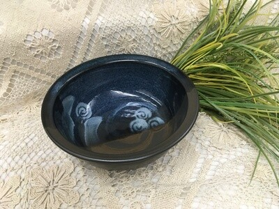 Salad Bowl for Two, Blue Stone - Pavlo Pottery - Canadian Handmade