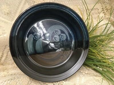 Veggie Bowl / Baker, Blue Stone - Pavlo Pottery - Canadian Handmade