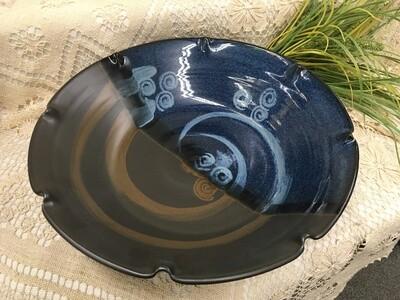 Pasta Bowl, Large - Blue Stone - Pavlo Pottery - Canadian Handmade