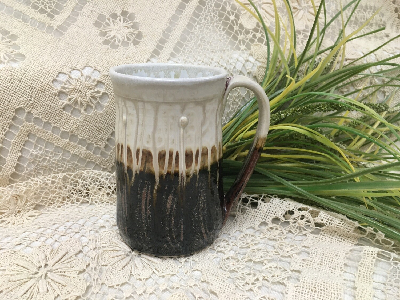 Large Mug, Cream Ash - Parsons Dietrich Pottery - Handmade Canadian