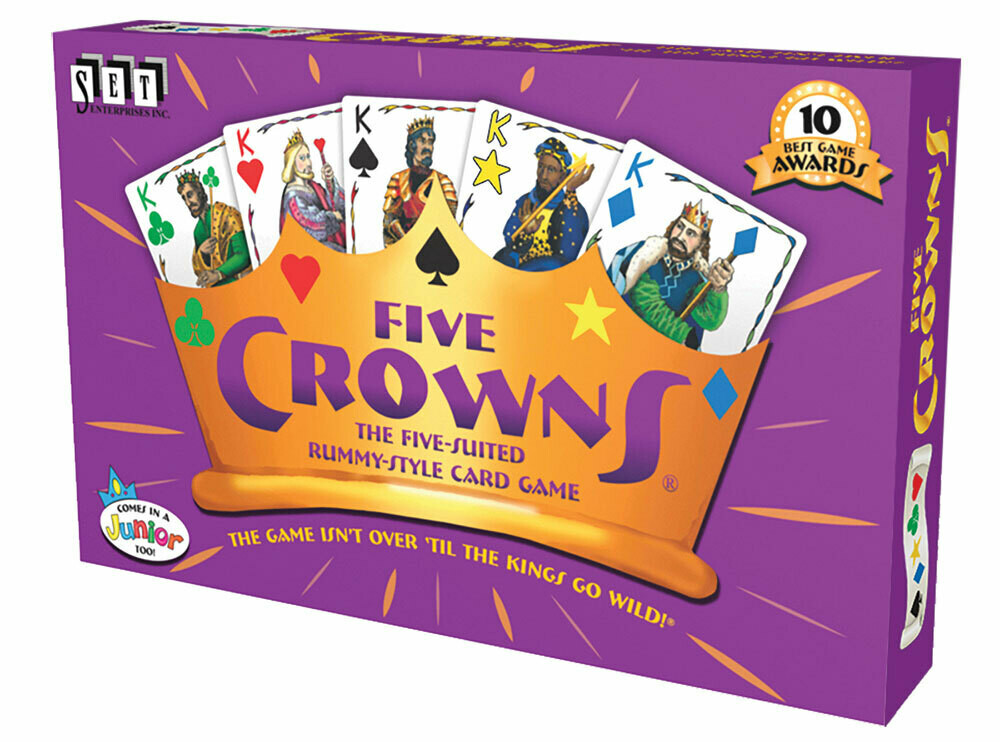 Five Crowns - 5 Suited Rummy Style