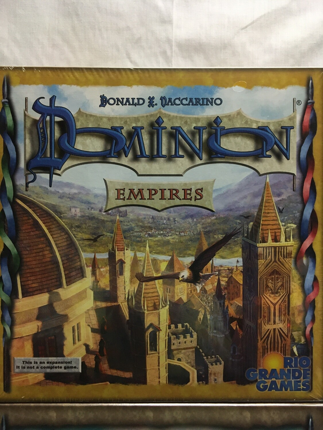 Dominion - Empires Expansion (This is not a stand alone game - MUST be played with base game or base cards sold separately)