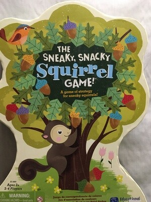The Sneaky, Snacky Squirrel Game! For children ages 3+