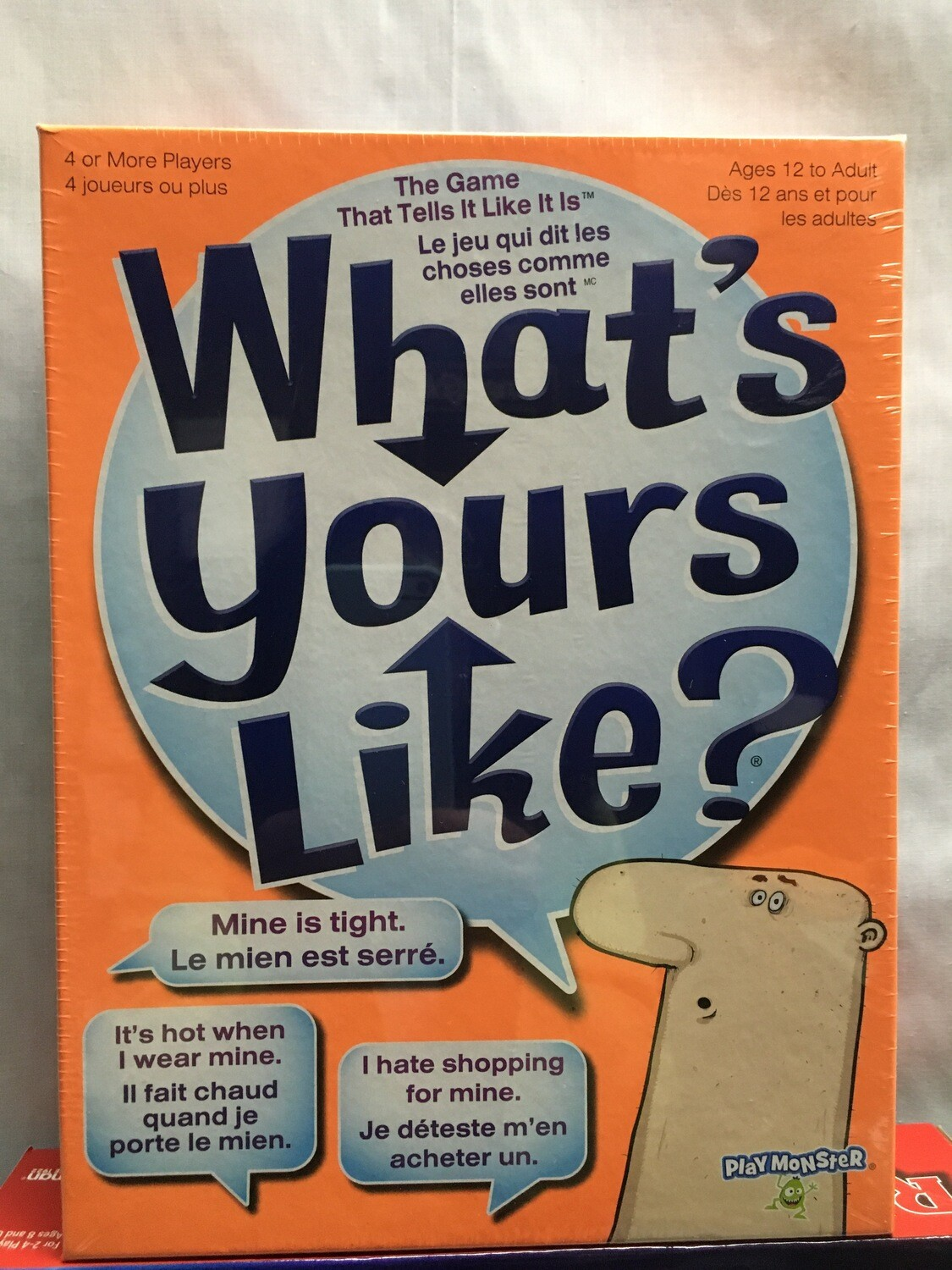 What's Yours Like - Party Game - ages 12 and up