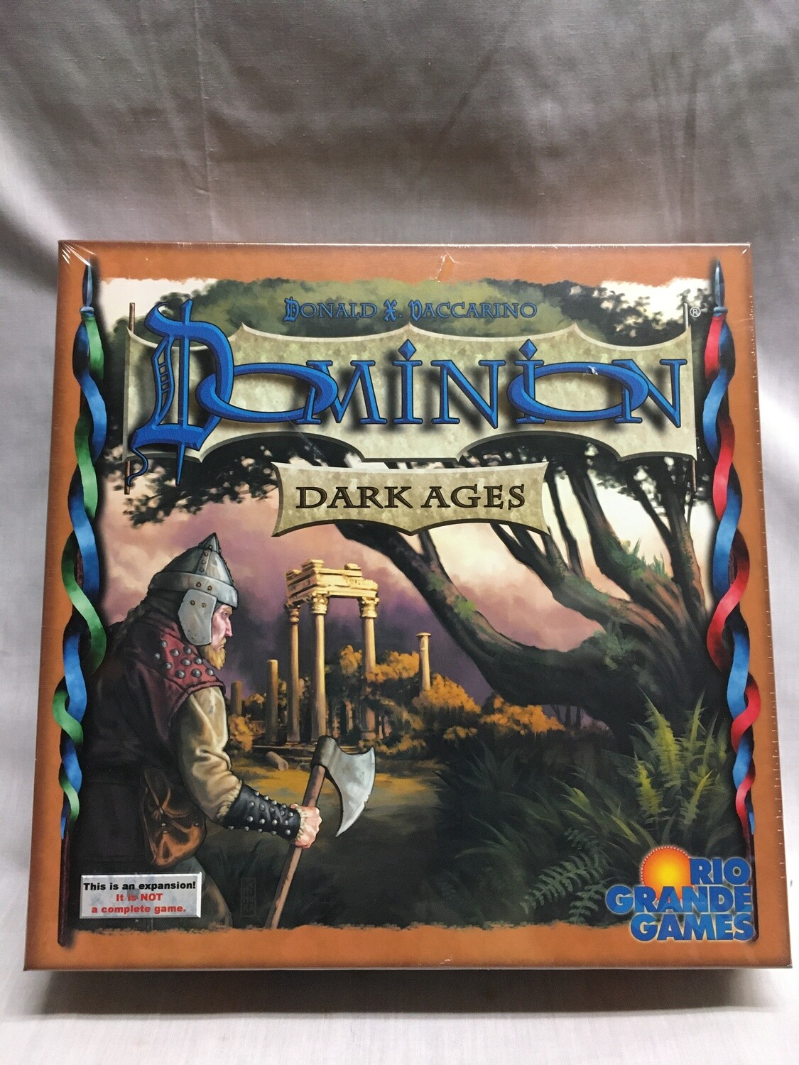 Dominion - Dark Ages Expansion (This is not a stand alone game - MUST be played with base game or base cards sold separately)