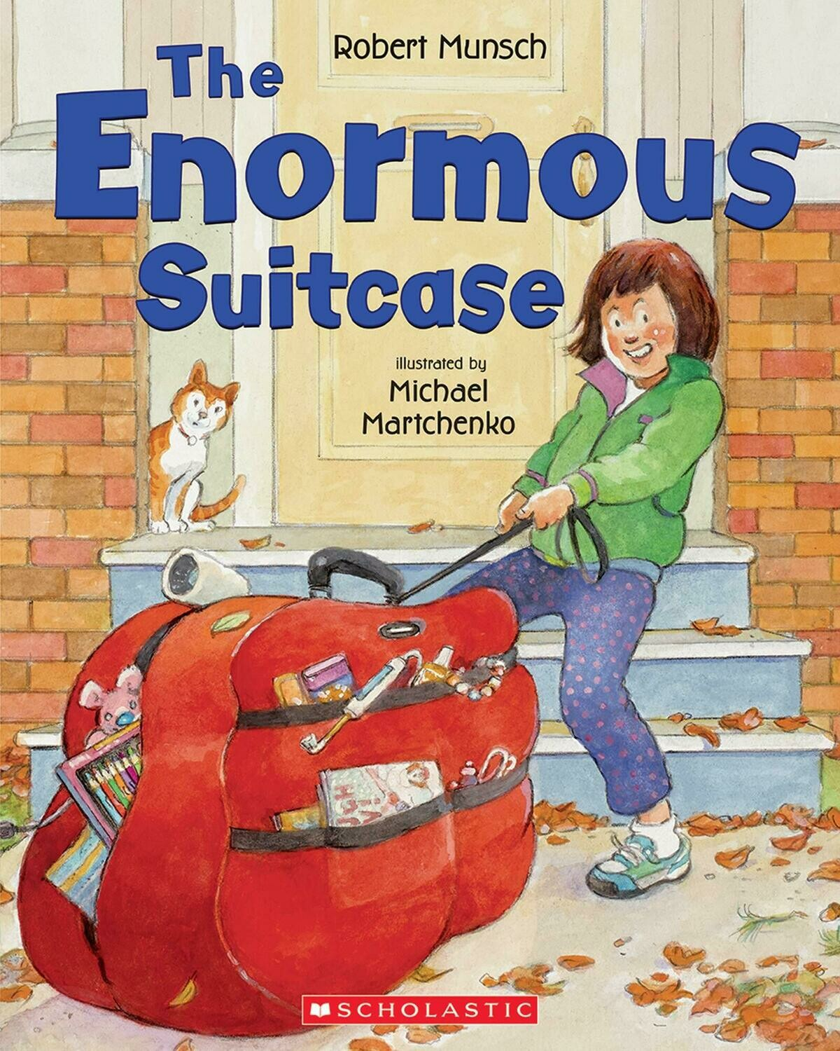 The Enormous Suitcase - Paperback