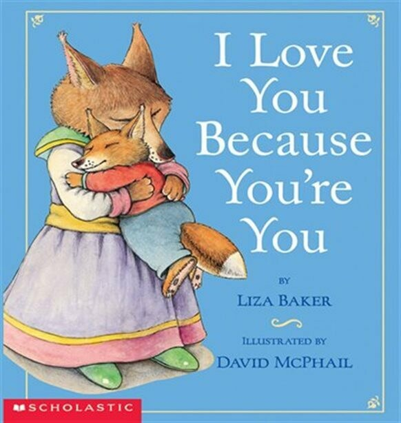 I Love You Because You're You - Puffy Board Book