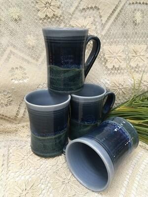 Large Mug, Ocean Blue - Pavlo Pottery - Canadian Handmade