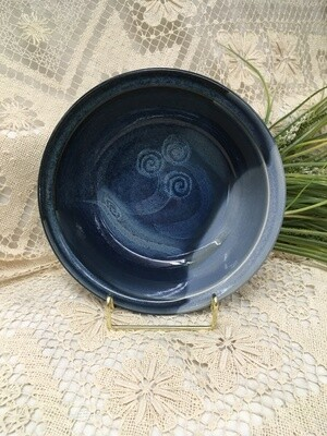 Salad Bowl for Two, Ocean Blue - Pavlo Pottery - Canadian Handmade