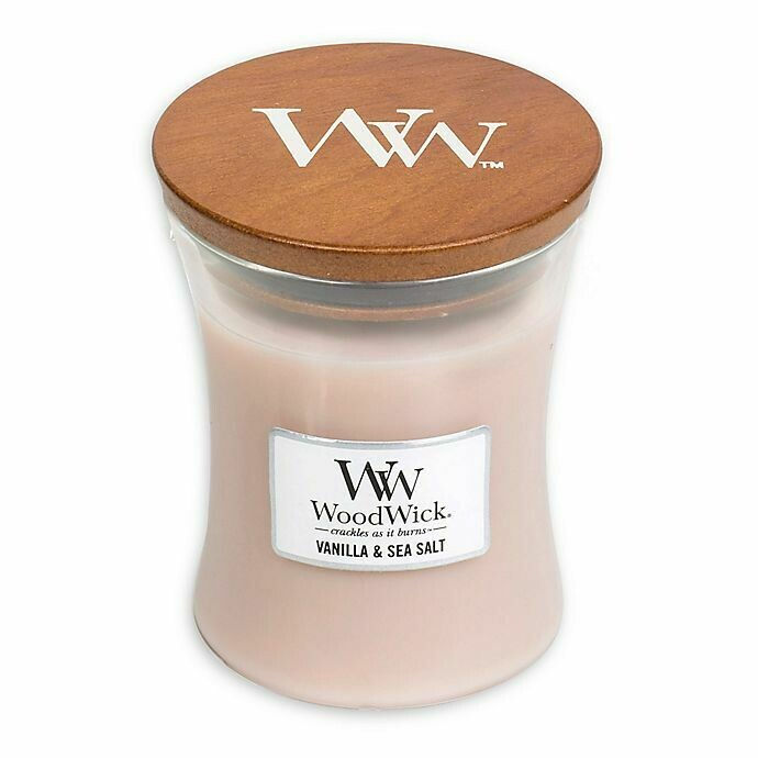 Vanilla & Sea Salt - Medium - WoodWick Candle