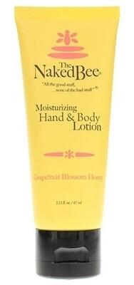 Hand & Body Lotion 2.25 oz - Grapefruit Blossom Honey