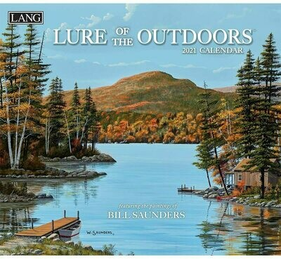 Lang Calendar - Lure of the Outdoors - Bill Saunders