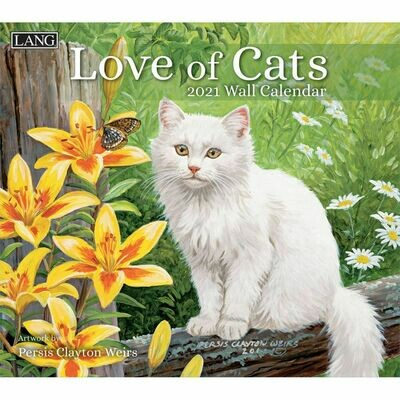 Lang Calendar - Love of Cats - Persis Clayton Weirs