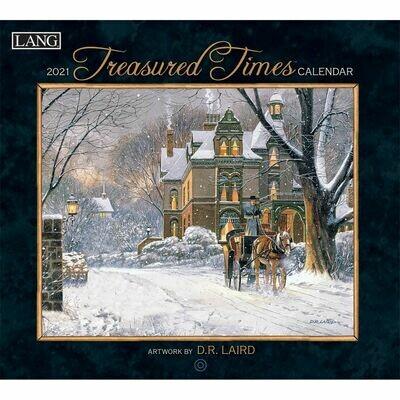 Lang Calendar - Treasured Times - D.R. Laird