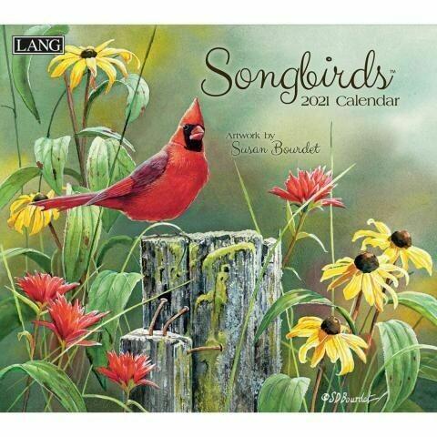 Lang Calendar - Songbirds - Susan Bourdet