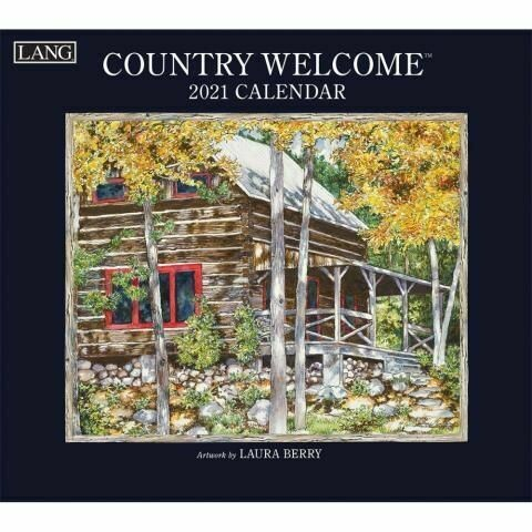 Lang Calendar - Country Welcome - Laura Berry