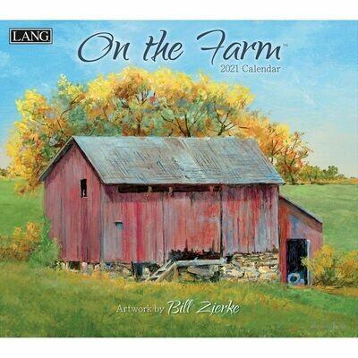 Lang Calendar - On the Farm - Bill Zierke - Barns