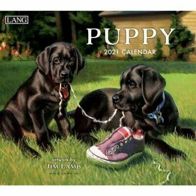 Lang Calendar - Puppy - Jim Lamb