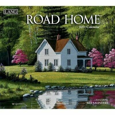 Lang Calendar - Road Home - Bill Saunders