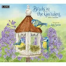Lang Calendar - Birds in the Garden - Jane Shasky