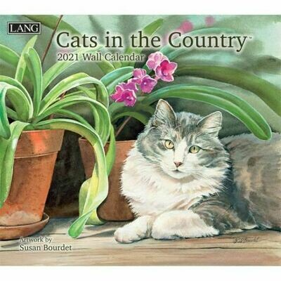 Lang Calendar - Cats in the Country - Susan Bourdet