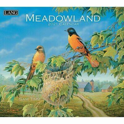 Lang Calendar - Meadowland - Sam Timm