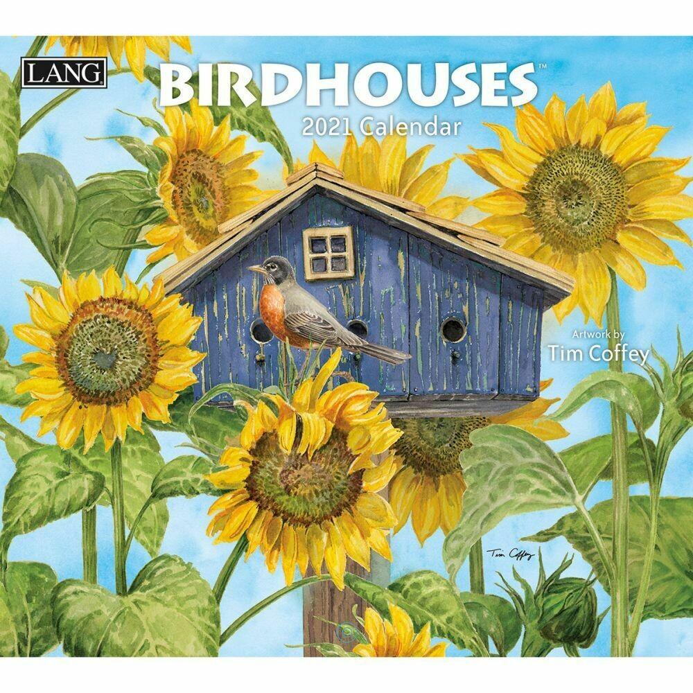 Lang Calendar - Birdhouses - Tim Coffey