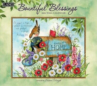 Lang Calendar - Bountiful Blessings - Religious Scripture - Susan Winget
