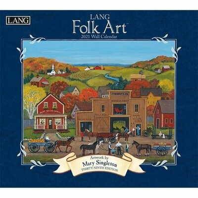 Lang Calendar - Folk Art - Mary Singleton