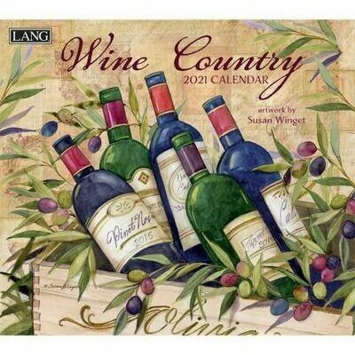 Lang Calendar - Wine Country - Susan Winget