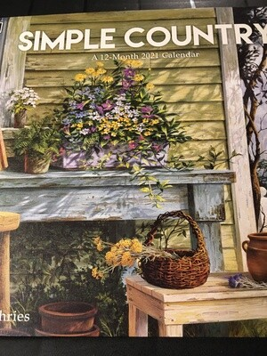 Lang Calendar - Simple Country - Michael Humphries
