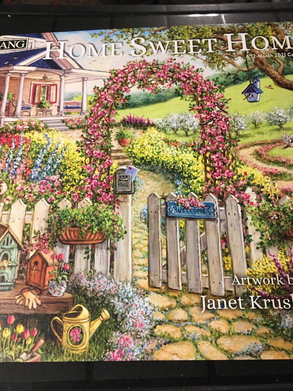 Lang Calendar - Home Sweet Home - Janet Kruskamp