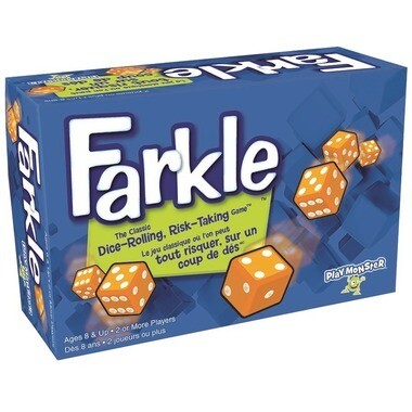 Farkle - Classic Dice-Rolling, Risk-Taking Game