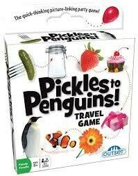 Pickles to Penguins -  Travel Game (132 cards)