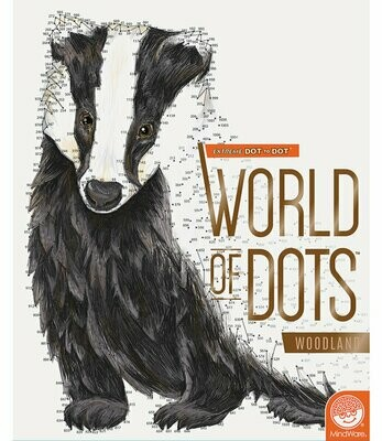 Extreme Dot to Dot - Woodland Creatures