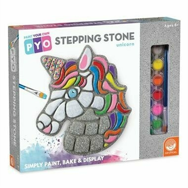Paint Your Own Stepping Stones - Unicorn, Ages 8 and up